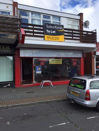 Thumbnail Retail premises to let in 49 Arrowe Park Road, Upton, Wirral