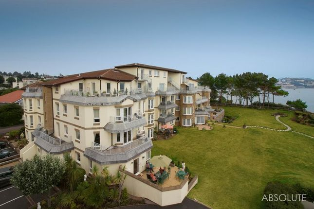 Thumbnail Flat for sale in The Headlands, Cliff Road, Torquay