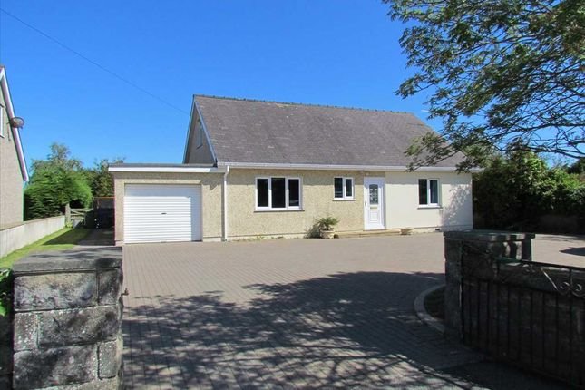Thumbnail Detached bungalow for sale in Llangaffo, Gaerwen