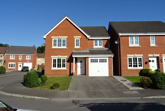 Thumbnail Detached house to rent in Pwll Yr Allt, Tir-Y-Berth, Hengoed