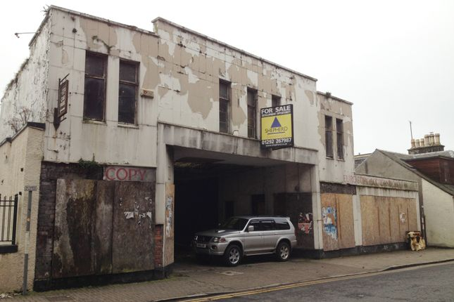 Thumbnail Parking/garage for sale in Dalblair Road, Ayr
