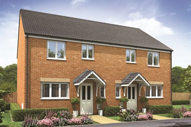 "Thumbnail Semi-detached house for sale in ""The Chester"" at Churchfields, Hethersett, Norwich"