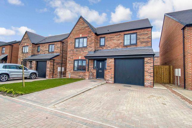 Thumbnail Detached house for sale in Archerfield Drive, Cramlington