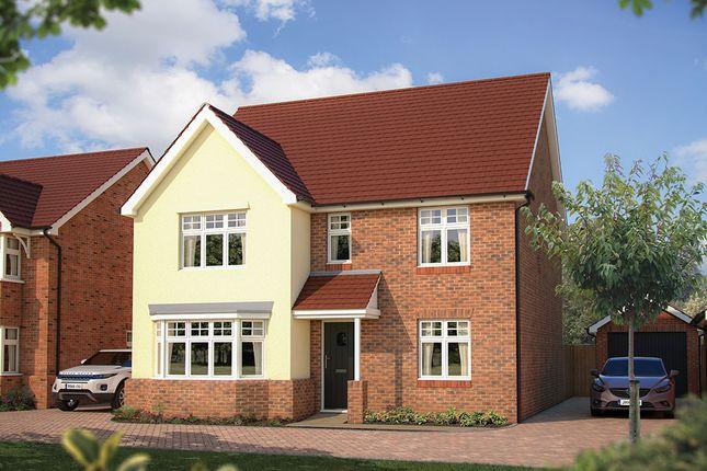 "Thumbnail Detached house for sale in ""The Walton"" at London Road, Calverton, Milton Keynes"