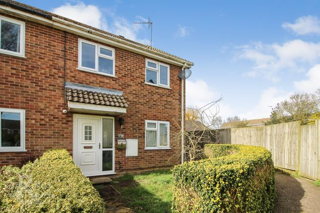 3 bed semi-detached house for sale in Nelson Way, Hevingham, Norwich NR10