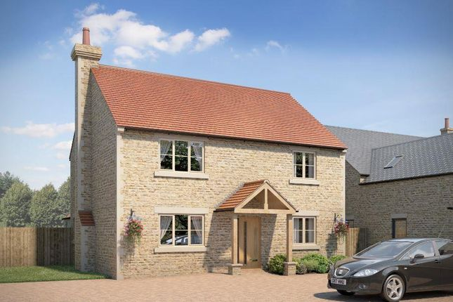 Thumbnail Detached house for sale in Station Road, Castle Bytham, Grantham