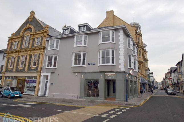 Thumbnail Flat to rent in Apartment 3, Lisburne House, Bath Street, Aberystwyth