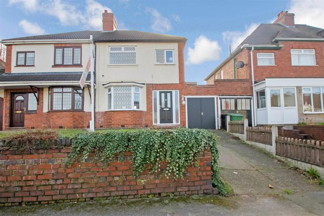 Thumbnail Semi-detached house for sale in Barns Lane, Rushall, Walsall