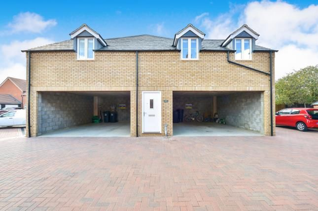 Thumbnail 2 bed flat for sale in Hare Lane, Cranfield, Bedford, Bedfordshire