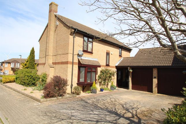 Thumbnail Detached house for sale in Ulyett Place, Oldbrook, Milton Keynes