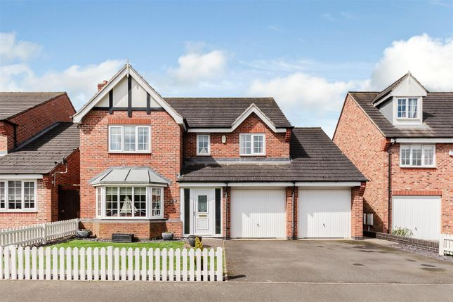 Thumbnail Detached house for sale in Hickling Close, Rothley, Leicester