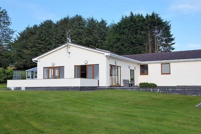 Thumbnail Detached bungalow for sale in Bethania, Llanon