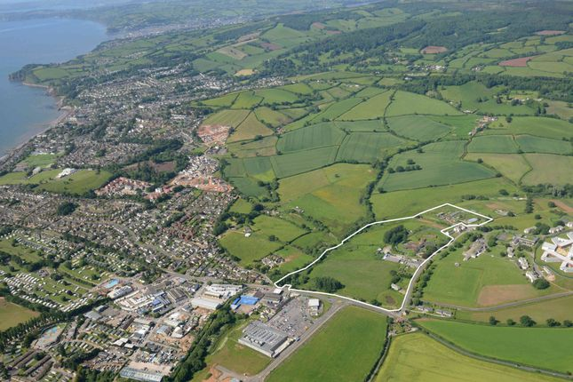 Thumbnail Land for sale in Exeter Road, Dawlish