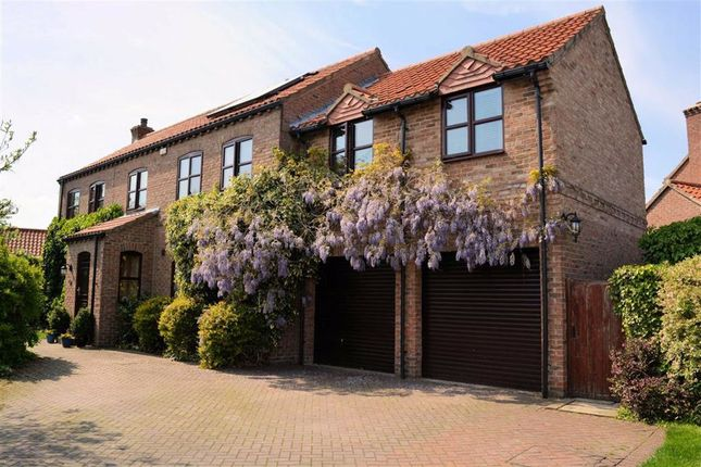 Thumbnail 5 bed detached house for sale in Maypole Gardens, Cawood