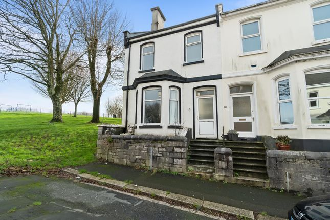 Thumbnail End terrace house to rent in Dundonald Street, Stoke, Plymouth