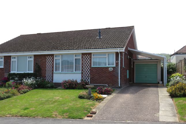 2 bed semi-detached bungalow for sale in West Street, Minehead TA24