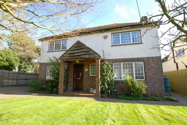 Thumbnail Detached house for sale in West Hythe Road, Hythe