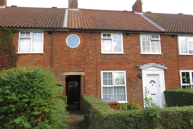 Thumbnail Terraced house for sale in Pondcroft, Welwyn Garden City
