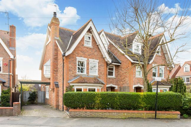 Thumbnail Semi-detached house for sale in Devonshire Road, Harpenden