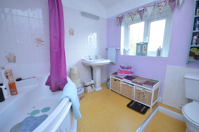 Family Bathroom With Corner Bath