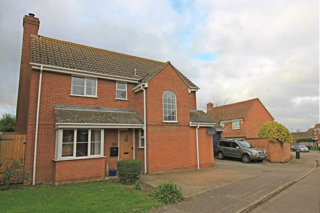 Thumbnail Detached house for sale in Ferndown Drive, Godmanchester