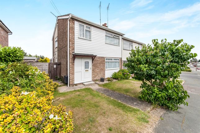 Thumbnail Semi-detached house for sale in Ainger Road, Dovercourt, Harwich