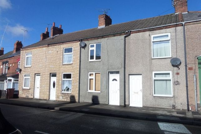 Thumbnail Terraced house to rent in Wharf Road, Pinxton, Nottingham