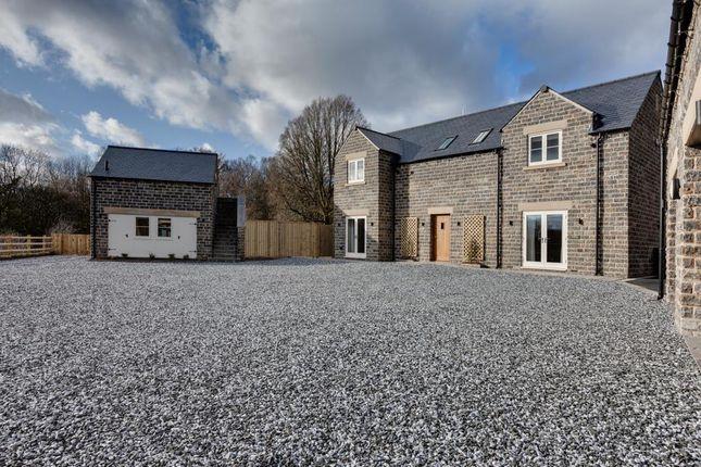 Thumbnail Detached house for sale in Whitegates, Dobbin Lane, Barlow, Dronfield