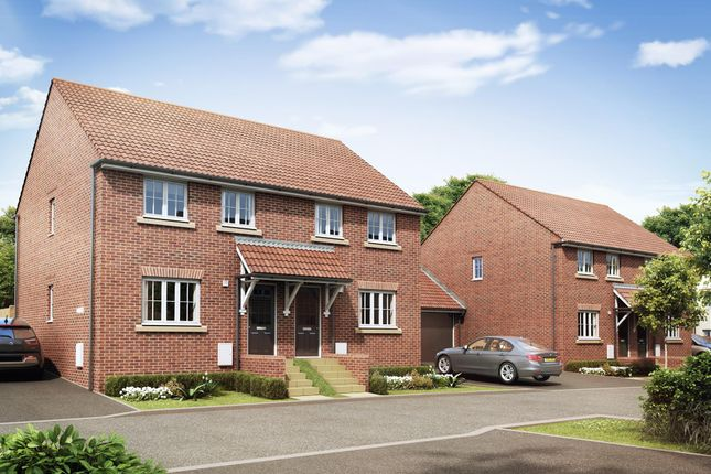 "Thumbnail Semi-detached house for sale in ""Finchley"" at Priorswood, Taunton"
