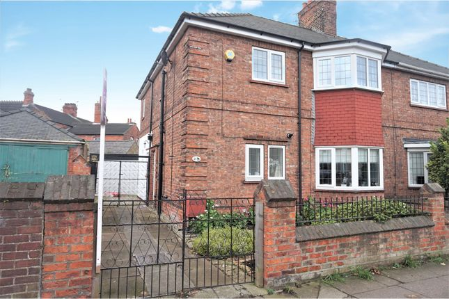Thumbnail Semi-detached house for sale in Cromwell Road, Grimsby