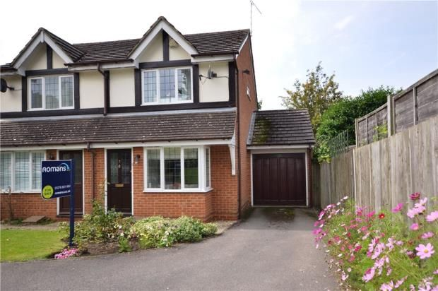 Thumbnail Semi-detached house for sale in Butterfields, Camberley, Surrey