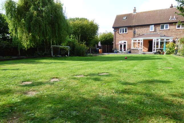 Thumbnail Semi-detached house for sale in Greys Manor, Banham, Norwich