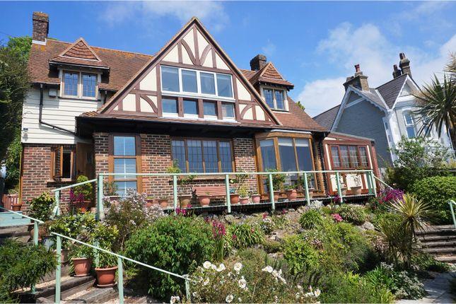 Thumbnail Detached house for sale in St. Albans Road, Ventnor