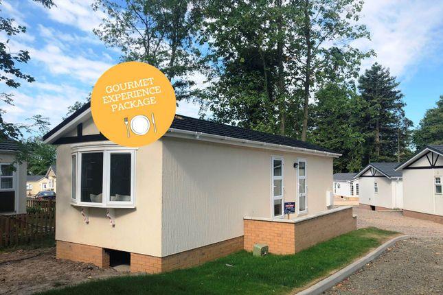 Thumbnail Mobile/park home for sale in Stour Port, Bromyard Herefordshire
