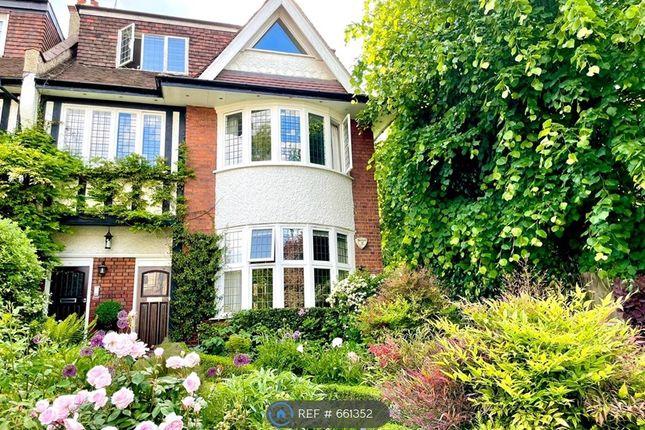 Thumbnail Maisonette to rent in Cholmeley Park, London