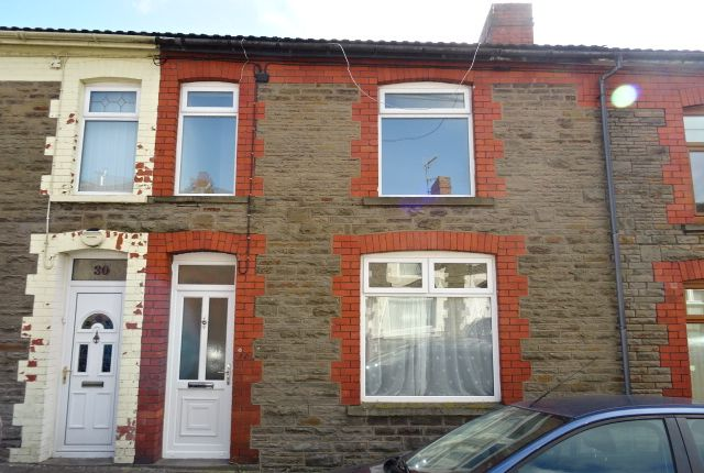 Thumbnail Terraced house to rent in St. Annes Street, Gilfach, Bargoed