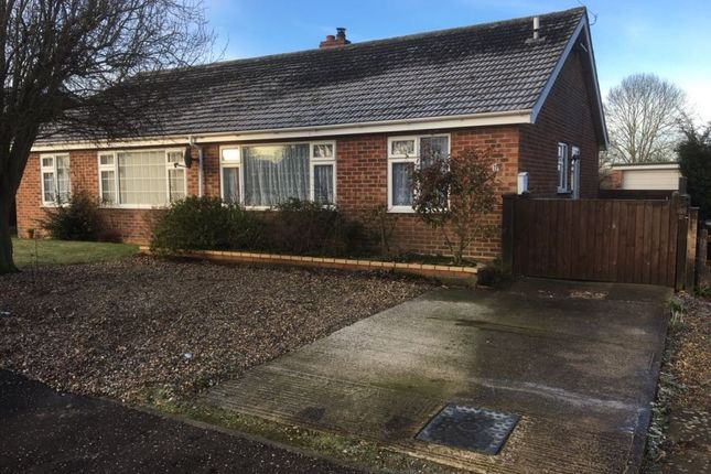 Thumbnail Semi-detached bungalow for sale in Farrow Close, Norwich, Norfolk