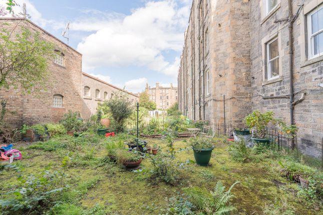 Rear Garden of Iona Street, Edinburgh EH6