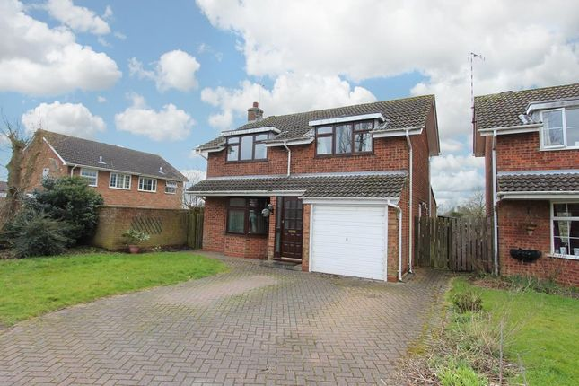 Thumbnail Detached house for sale in Barley Close, Rugby