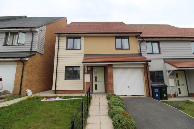 Thumbnail Semi-detached house to rent in Bellshiel Grove, Newcastle Upon Tyne
