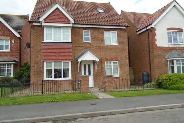 Thumbnail Detached house to rent in Rothbury Drive, Ashington