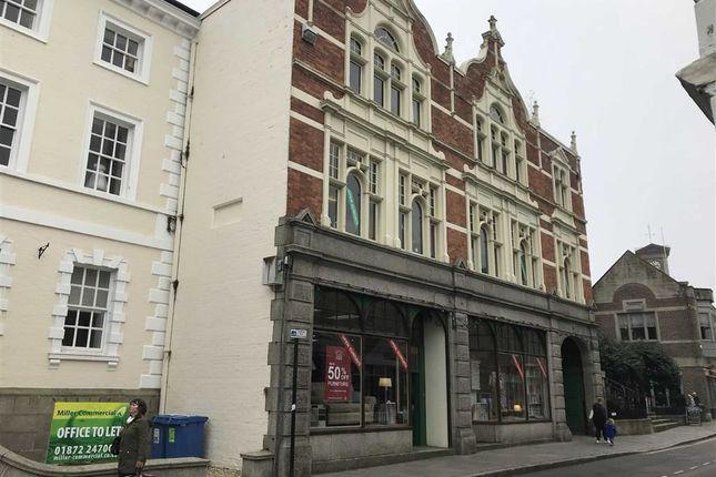 Thumbnail Retail premises to let in Wearhouse, 10, Princes Street, Truro