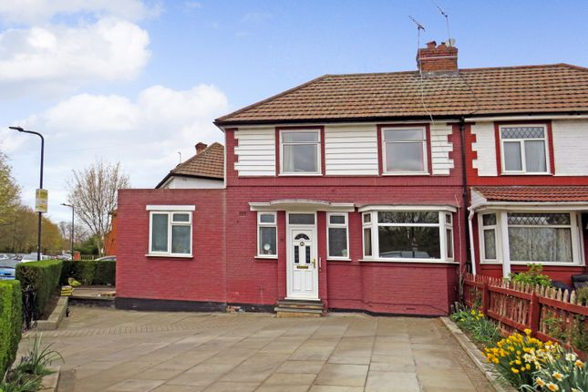 Thumbnail Semi-detached house for sale in Queensbury Road, Wembley, Middlesex