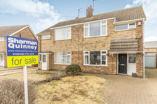 Thumbnail Semi-detached house for sale in Lonsdale Road, Stamford