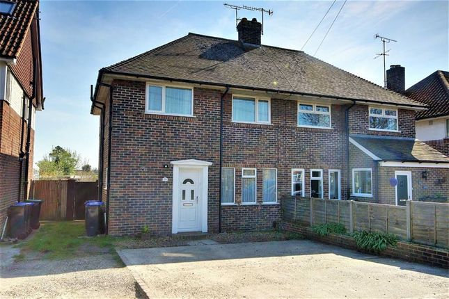 Thumbnail Semi-detached house for sale in Terringes Avenue, Worthing, West Sussex