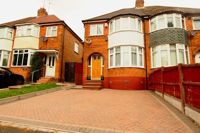 Thumbnail Semi-detached house to rent in Calshot Road, Great Barr, Birmingham