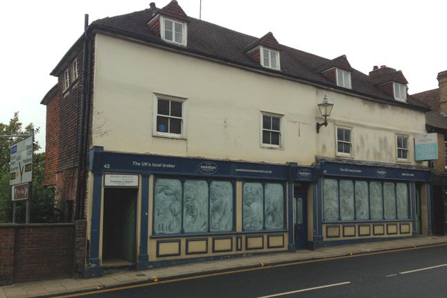 Thumbnail Retail premises to let in Ground And Part 1st Floor, 43-45 High Street, Sevenoaks