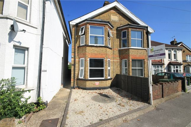 Thumbnail Semi-detached house for sale in Laleham Road, Staines Upon Thames, Middlesex