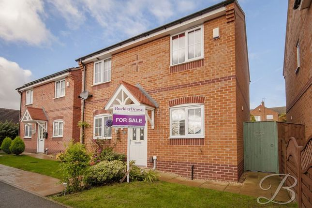 3 bed detached house for sale in Hanover Close, Forest Town, Mansfield