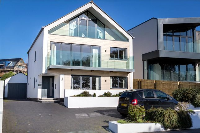 Thumbnail Detached house for sale in Whitecliff Road, Whitecliff, Poole, Dorset